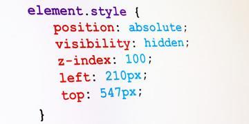 דוגמא לקוד CSS