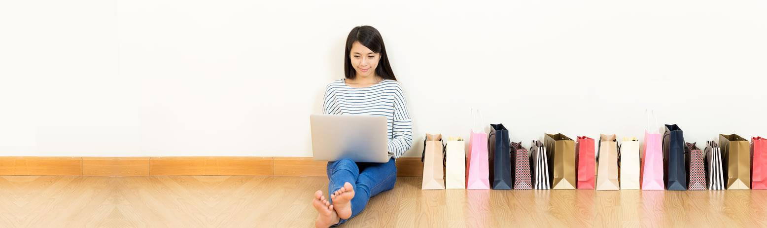רכישת מוצרים באינטרנט